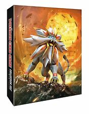 Japanese Pokemon Solgaleo Lunala Sun Moon 4-RING BINDER w/ 8 pages BRAND NEW!!