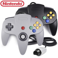 N64 Controller Long Wired Gamepad for Nintendo 64 Game System Mario Kart