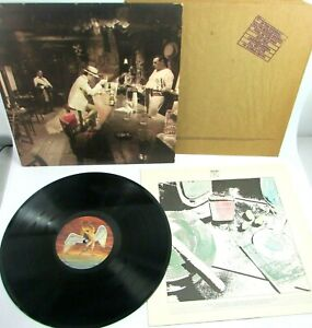 LED ZEPPELIN IN THROUGH THE OUT DOOR LP 1979 SS16002 Strawberry Off Center Label