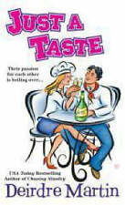 Just a Taste (Berkley Sensation), By Deirdre Martin,in Used but Acceptable condi