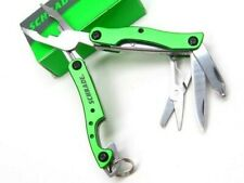 Schrade St12 Green Stainless Steel Multi-Tool Tool w/ Pliers Screwdriver