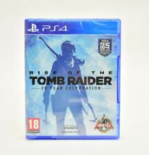 Rise of the Tomb Raider 20 Year Celebration Edition (PS4, 2015) BRAND NEW PAL