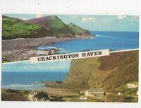 Crackington Haven Cornwall Old Postcard 573a