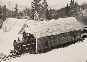 HO/HOn3 Covered Bridge/Snow Shed Kit by Muir Models Wood Construction NOS