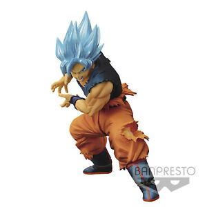 Lizenzierte Dragonball Figur Super Maximatic SSGSS Gott God Blue Son Goku