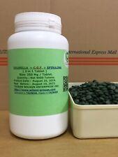 (3 in 1) Nutrition (Chlorella + C.G.F + Spirulina) tablets: Taiwan Factory No.1.