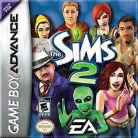 The Sims 2 - 2006 Simulation - Nintendo Game Boy Advance