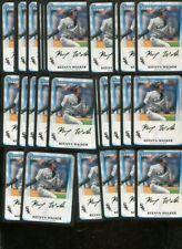 KEENYN WALKER BULK LOT OF 25 - 2011 1st BOWMAN CARD WHITE SOX SALT LAKE CITY