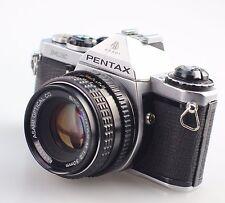PENTAX ME 35mm SLR Film Camera + 50mm Lens