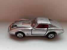 JRI Hong Kong 1970s Chevrolet Corvette Silver #4  1/64 Scale