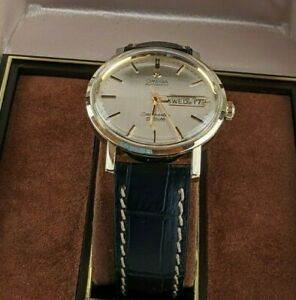 Vintage Omega Seamaster DeVille Automatic 14k Gold Filled 35 mm Watch