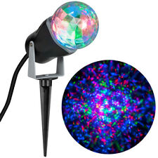Led Lightshow Projection Kaleidoscope swirling multicolored light (L@K)