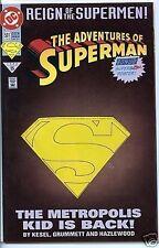 Adventures of Superman 1987 series # 501 Die cut variant near mint comic book