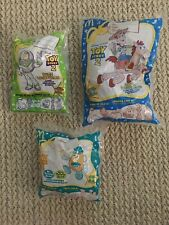 1999 McDonalds Toy Story 2 Candy Dispensers Lot of 3 (New)