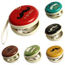 Portable Mini Zipper Earphone Pocket Headphone Bag SD Card Case Pouch Storage