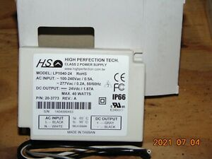 High Perfection Tech AC/DC LP1040-24 LED Driver Power Supply IP66