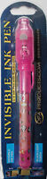 GIRLS PINK SECRET DIARY MESSAGE / SPY GAME PEN & UV LIGHT GIFT PACKAGED XMAS NEW