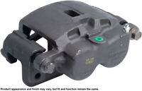 Disc Brake Caliper-Unloaded Caliper with bracket Rear Right,Front Left Reman