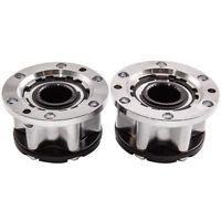 pair Free Wheel Locking Hub Hubs for Toyota LandCruiser HZJ80 FZJ 70/75 FJ40 60
