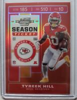 2019 Contenders Optic Season Ticket #36 Tyreek Hill - Kansas City Chiefs