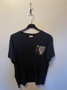 Lacoste Live T-Shirt Blau m. Tasche Gr.L Herren Mode Np:54,95€