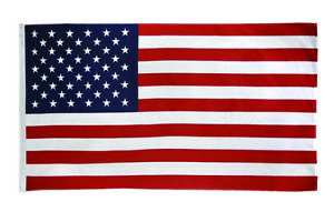 USA  8' x 5'  Extra Large Flag United States Funeral Coffin Flag Premium Quality
