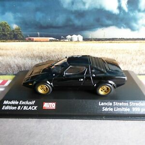 MINICHAMPS 1/43 LANCIA STRATOS Stradale  modele exclusif 8/black AUTOPLUS 999ex.