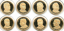 2012 - 2016 Presidential Dollars Proof Coin Set - San Francisco Mint - AK362