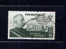 ITALIA, COLONIE, TRIPOLITANIA, 1934 VOLO ROMA MOGADISCIO, SASS A 47 USATO