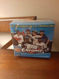 2020 Topps Chrome Update Baseball Mega Box Sealed (Blue Box)