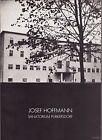 Josef Hoffmann Sanatorium PURKERSDORF Wiener Secession Architecture Design RARE
