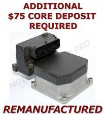 Reman 99-03 Saab 9-3 9-5 Abs Pump Control Module Exchange 0273004451 0265220556 (Fits: Saab 9-5)
