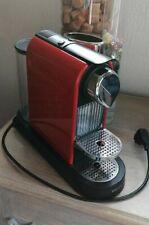 Machine dosette Nespresso Krups Citiz Red XN 7205