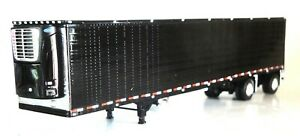 DCP BLACK REEFER SPREAD AXLE TRAILER 1/64 60-0776 T