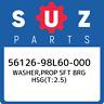 56126-98L60-000 Suzuki Washer,prop sft brg hsg(t:2.5) 5612698L60000, New Genuine