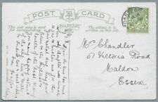 1910's Postcard, Mrs Chandler, 51 Victoria Road, Maldon, Essex