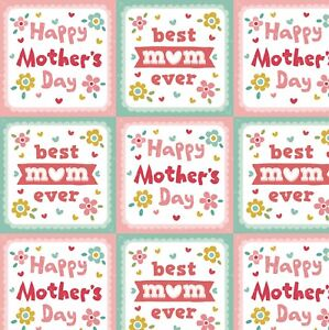 Mothers Day Wrapping Paper,Best Mum Ever Wrapping Paper.Happy Mothers Day.