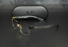 RAY BAN RX8416 3014 Gold On Top Matte Black Demo Lens 55 mm Unisex Eyeglasses