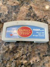 Vintage 1997 Family Feud Game Cartridge Tiger