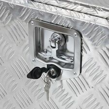 T-handle Tool Box Lock Rv Door Latch with Two Keys Stainless Steel Polished