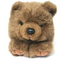 "Puffkins Grizwald The Bear 4"" Brown Plush Stuffed Animal"