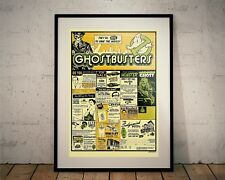 Ghostbusters. Limited Edition Print. 80s Cult Movie (Prints/Poster)