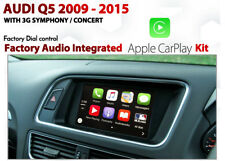 Audi Q5 3G Symphony Concert Integrated dial controlled CarPlay install Kit