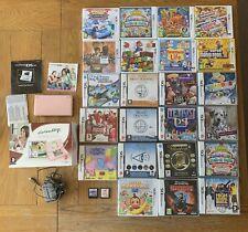 Nintendo 3ds / Ds Games & Console Bundle - Joblot - Mario - Dogz - Tomodachi