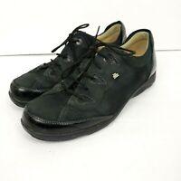 Finn Comfort Germany womens sz US 7.5 UK 5  W lace up oxford shoes walking black