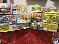 DRAGON MODEL KITS #6031 #6051 #6801 #6803 #6714 #6356 10+ '39-'45 & Korean War