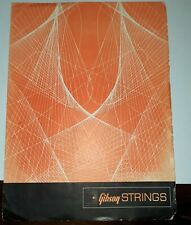 1969 Gibson Guitar  Strings Catalog