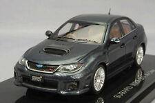 Ebbro 1:43 Subaru Impreza WRX STI A-Line Gray from Japan
