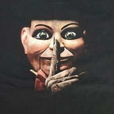 Dead Silence 2007 T Shirt You Scream You Die Black Horror Movie Size Large L