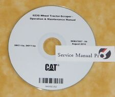 SEBU7857 Caterpillar 623G Wheel Tractor Scraper Operation Maintenance Manual CD
